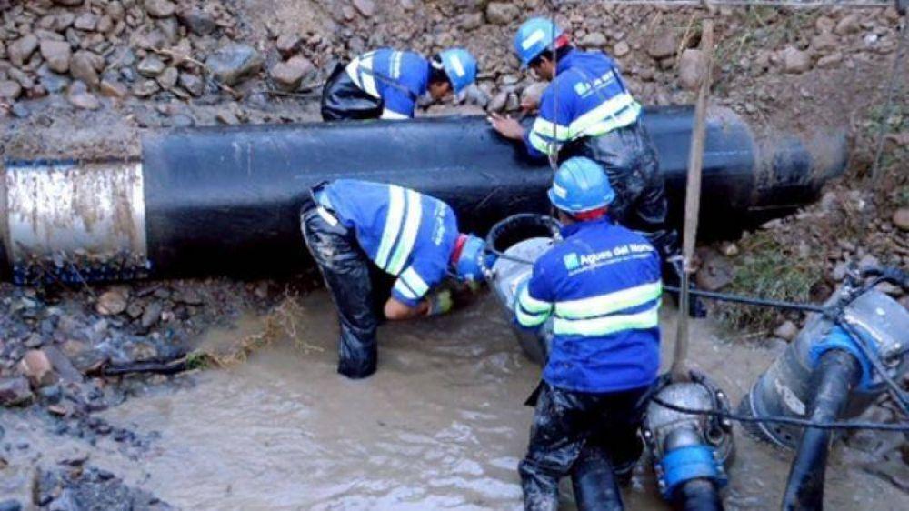 Pino Paz Posse solicitó recursos a la Nación para impulsar obras hídricas