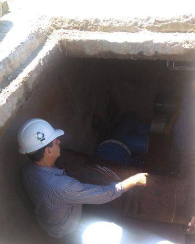 Obras hídricas para Posadas y Garupá: realizan trabajos previos al operativo del viernes