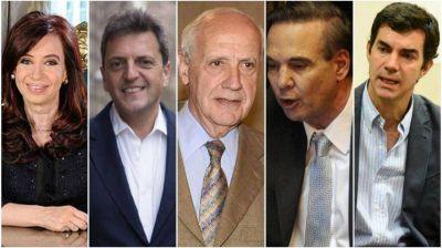Según una encuesta de Perfil.com, Cristina Kirchner es la más elegida en una eventual interna del PJ