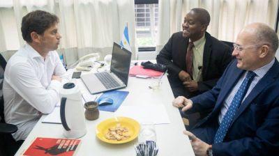 Pérdida de empleo y ajuste en ciencia y educación: los detalles de la reunión de Kicillof con el FMI