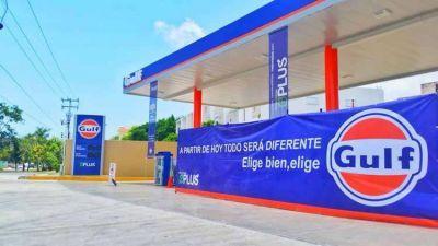 Gulf comenzó las gestiones para incorporar a las Estaciones de Servicio de la ex Oil Combustibles