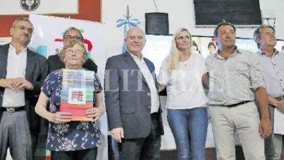 Habilitan la extensión de la red cloacal en María Juana