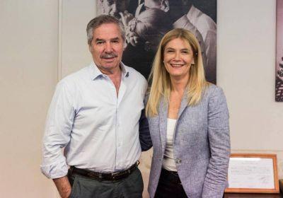 Solá junto a Magario apuntó contra Vidal poniendo el foco en el conflicto docente