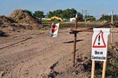 Melincué: $113 millones para dos nuevas estaciones de bombeo que aceleren la regulación de la laguna