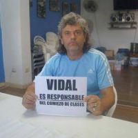 """Julio Andenucci: """"La responsabilidad es de la gobernadora Vidal"""""""