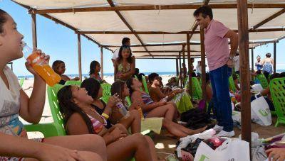 Con casi 100 chicos y la presencia del Intendente, se cerró la Colonia Municipal de Verano