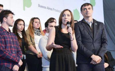 Vidal reúne a Bullrich y Finocchiaro en un gran acto en Ensenada para presionar a los gremios docentes