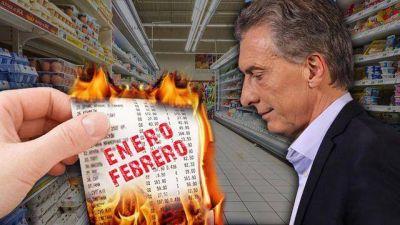 Por el repunte de la inflación se vuelve a derrumbar la imagen de Mauricio Macri