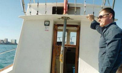 El embajador ruso navegó por la costas marplatense y fue agasajado en el Club Náutico