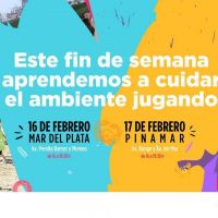 Secretaría de Ambiente realiza jornadas de concientización en Mar del Plata y Pinamar