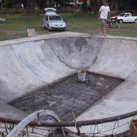 Recta final para la inauguración del bowl de skate en Villa del Deportista