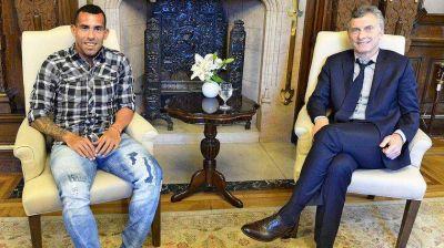 Carlos Tevez fue socio de los Macri en el polémico negocio de los parques eólicos