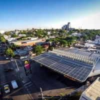 URUGUAY: 52 Estaciones ANCAP ahorran un 55 por ciento de energía no renovable con paneles fotovoltaicos
