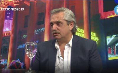 """Alberto Fernández: """"Cristina entendió que con ella sola no alcanza para ganarle a Macri"""""""
