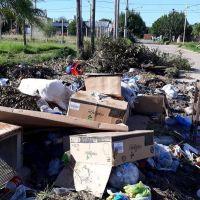 Denuncian la proliferación de basurales en el barrio Ponce