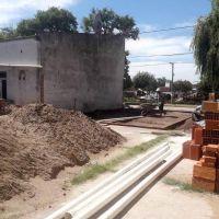 Comenzaron las obras en la Escuela Primaria Nº 35