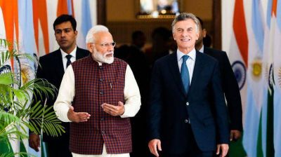 Mauricio Macri invitó al primer ministro de la India a invertir en Vaca Muerta