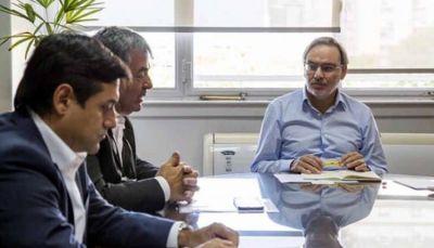 Lopetegui recibió a FECRA para analizar temas de importancia para el sector de los estacioneros