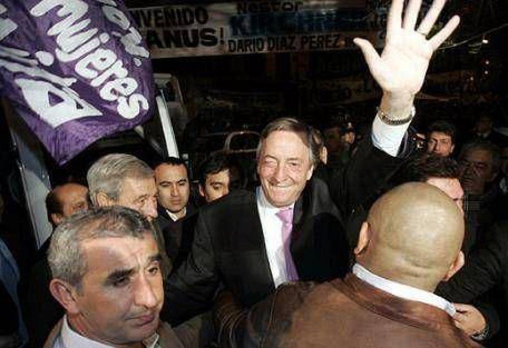 """Kirchner llamó a """"no confrontar"""""""