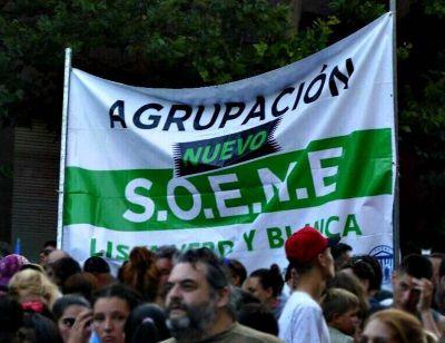 Opositores a Balcedo avanzan en el armado de una lista para disputar la conducción del SOEME