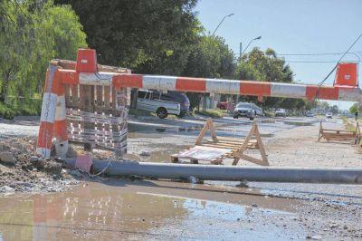 Alta Barda sin agua y sin paz por los constantes desbordes cloacales