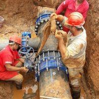 Finalizan nuevas obras hídricas para el servicio de agua en el Sur de Posadas y Garupá