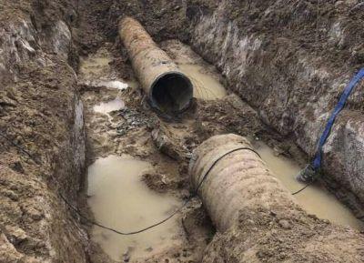 Se rompió un acueducto que abastece Rada Tilly