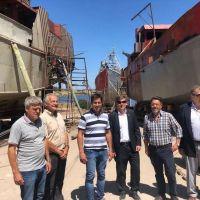 El subsecretario de pesca y acuicultura de la nación visitó Puerto Quequén