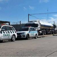 Tras varias horas de conversaciones y ante un fuerte dispositivo policial, se liberó bloqueo en La Tablada