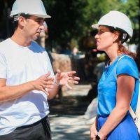 Tagliaferro arrancó la etapa final de una obra clave para evitar inundaciones en Morón