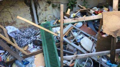 Ratas y kilos de basura a metros del corredor gastronómico Pellegrini