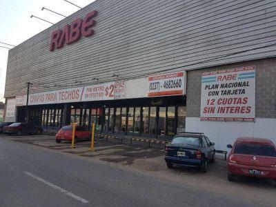 Cerró la empresa Rabe y dejó en la calle a 23 trabajadores