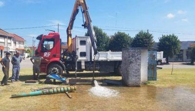 Mejoras en el pozo de agua de Avenida 59 y 32