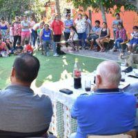 Reunión vecinal en Pontevedra