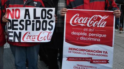Trabajadores de Coca-Cola marcharán en contra de los despidos de la empresa