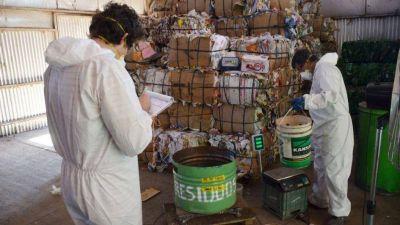General Alvear clasifica y cuantifica residuos sólidos urbanos