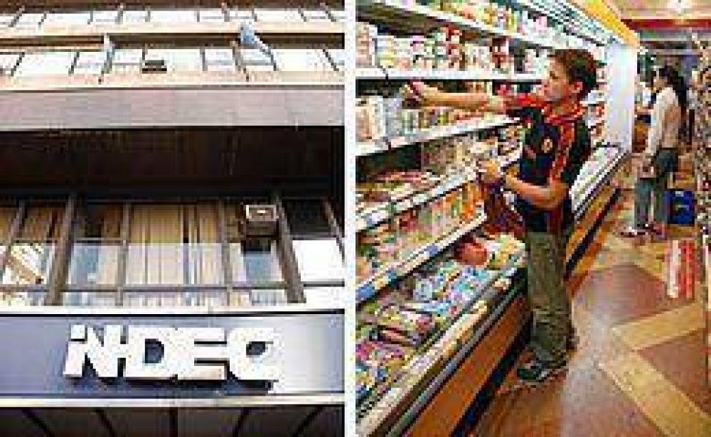 Las ventas de los supermercados tuvieron el menor crecimiento en más de tres años
