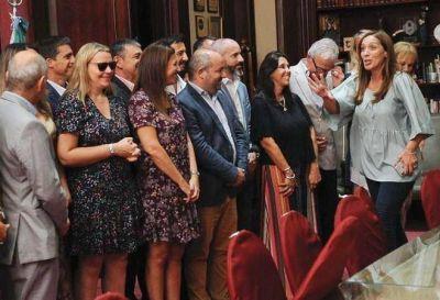 """Vidal anticipó que la primaria en Mar del Plata será entre Arroyo y Montenegro y se """"acordó"""" de Toledo"""