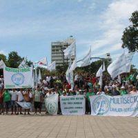 La Multisectorial 21F de La Plata propuso lanzar un paro nacional por fuera de la CGT