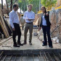 Morón: Vidal recorrió obras hidráulicas que beneficiarán a 80 mil vecinos