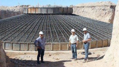 Tornquist: los parques eólicos El Mataco y San Jorge van tomando forma