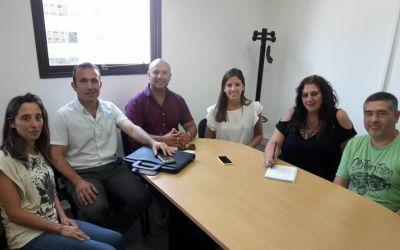 Gestiones en La Plata: producción, OPDS y turismo