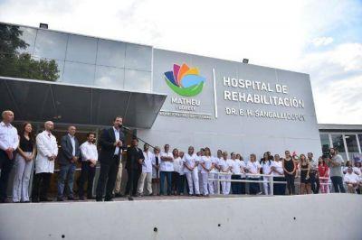 Sujarchuk inauguró el Polo Sanitario de Matheu, el centro de salud más grande del distrito