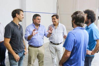 López Medrano y Tizado visitaron una PyME en San Martín