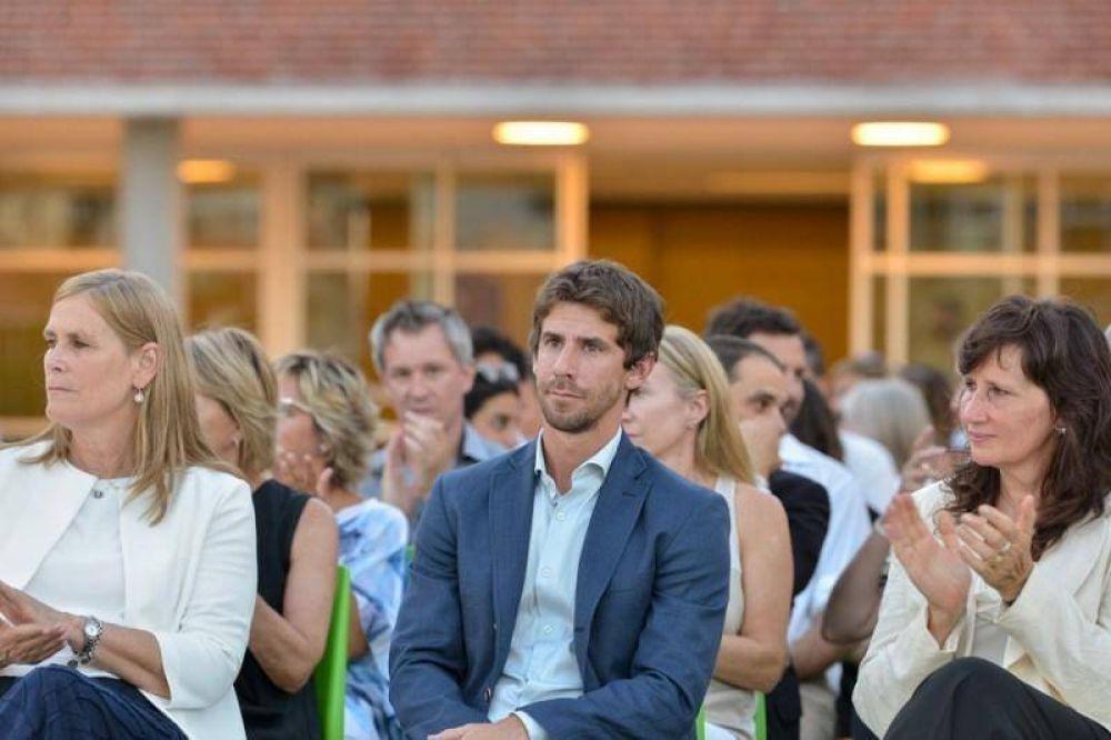 Juan Andreotti participó de la inauguración de la Escuela Primaria Campus San Andrés