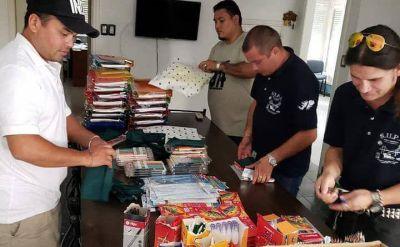 El SUPA Bajo Paraná prepara los kits escolares para entregar a sus afiliados