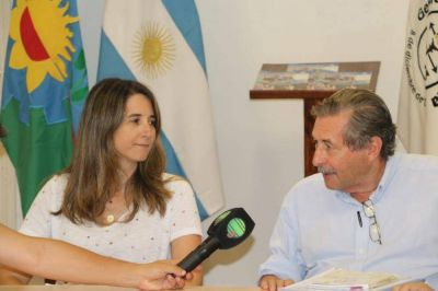 La Senadora Provincial Flavia Delmonte visitó Madariaga