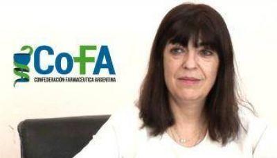La Presidente del Colegio de Farmacéuticos de la Provincia de Buenos Aires se presenta el sábado en el Colegio de Necochea
