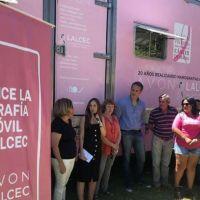 El mamógrafo móvil de Avón realizará estudios gratuitos durante 4 días en Necochea