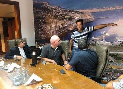 El subsecretario nacional de Pesca y Acuicultura visitó Puerto Quequén